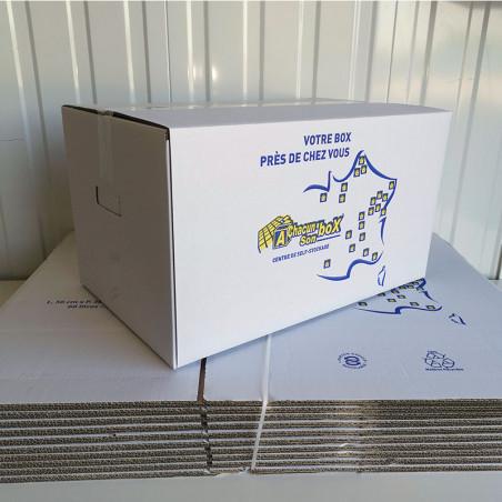 lot de 10 cartons de déménagement standard
