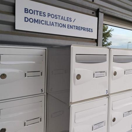 Domiciliation d'entreprise, boite postale