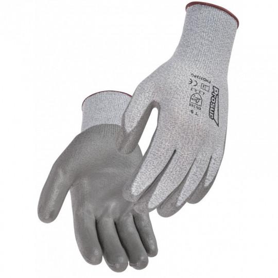 Gant Anticoupure Fibre PE gris EN388...