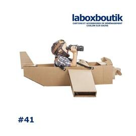 """PitchBox#41 !  Dans la collection """"Dis Papa ! tu me fais un avions ? """" ... Un carton et nous voici dans l'aéro-postale    #carton #déménagement #laboxboutik #venteenligne #drive #collect #livraison #beaune #chalonsursaone #bourgogne #zen"""